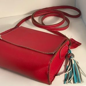 Kimchi Blue Red Leather Small Purse
